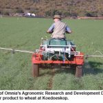 Omnia proves products in real farming conditions