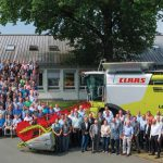 CLAAS has been successfully manufacturing large combine harvesters since 1995: The 50 000th LEXION rolls off the assembly line