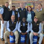 Dekalb brings the farm to NAMPO… and sends a useful gift back