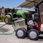 Maer high-pressure washers for agriculture on show at NAMPO 2018