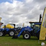 The New Holland menu: A cunning combine and a tough tractor