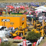 JCB pitches its tent in the NAMPO Show territory