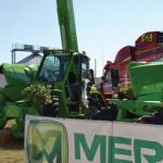 Green Merlo monster-telehandlers draw the crowds at NAMPO