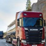 Good news from Scania: New Truck Range means even less fuel