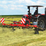 The operation and application of hay rakes and hay tedders – Part 7: The rotary tedder and windrower