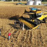 Farmer sets two new grain maize harvest world records with CLAAS in 2018