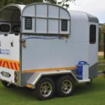 A love for horses ends in the Equus Supreme horsebox