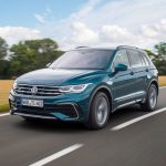 Volkswagen's best-selling Tiguan SUV receives a new look